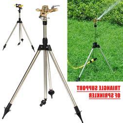 Adjustable Lawn Water Sprinklers Tripod Watering Irrigation