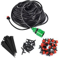 Adjustable Micro Drip Watering Systems Irrigation Kit Automa