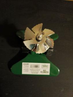 Expert Gardener Aluminum Metal Fan Sprinkler 2-WAY Irrigatio