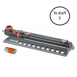 Gardena AquaZoom 3900 Foot Oscillating Sprinkler, Adjustable