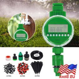 Auto 25m DIY Micro Drip Irrigation System^Timer Self Plant W