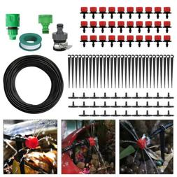 AUTO 25m 75FT Micro Drip Irrigation System Plant Greenhouse