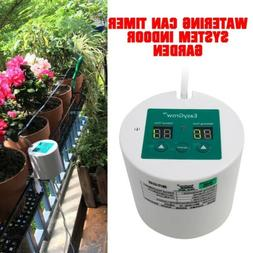 Automatic Drip Irrigation Kit Plant Self Watering Can Timer
