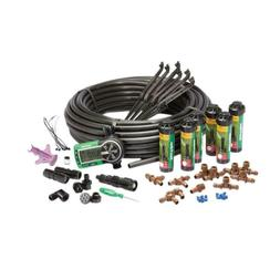 Automatic Lawn Sprinkler System W/ Timer Tubing Connectors S