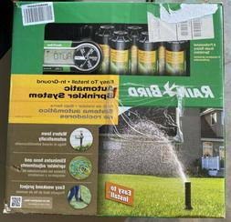 Automatic Underground Yard Lawn Sprinkler System Kit Easy In