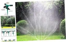 Blisstime Lawn Sprinkler, Automatic 360 Rotating Garden Wate