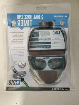 """DIG BO9DB Battery Powered Hose End Timer 3/4"""" FHT x 3/4"""" MHT"""