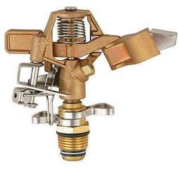 SOMMERLAND Brass Impact Sprinkler on Metal Spike 5000 sq ft