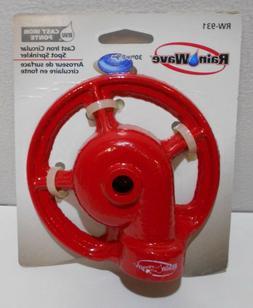Rainwave Cast Iron Circular Spot Sprinkler Head RW-931