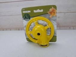 Nelson Cast Iron Yellow Stationary Sprinkler- Pound Of Rain