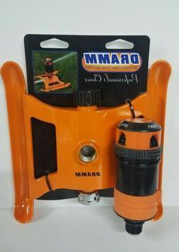 Dramm ColorStorm 4 Pattern Gear Drive Sprinkler Orange 15092