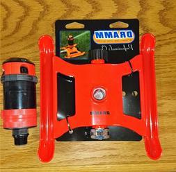 Dramm ColorStorm 4-Pattern Gear Drive Sprinkler, Red
