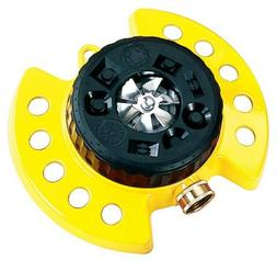 Dramm ColorStorm Turret Sprinkler in Yellow