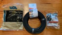 Drip Irrigantion Conversion Kit W/Soaker Hose Tubing, Landsc