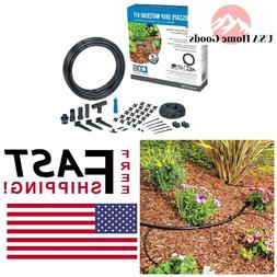 51 Piece Drip Irrigation Kit Sprinkler Watering Garden Plant