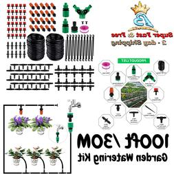 Drip Irrigation System Kit Garden Sprinklers Self Watering K