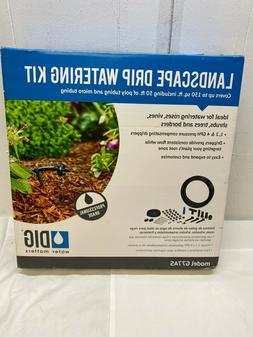 Drip Irrigation Watering Kit, New G77AS
