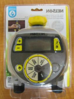 """Dual Outlet Water Timer, 6 Cycle, Digital LCD, 3/4"""" Coupling"""