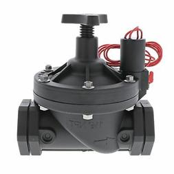 """Galcon 24 VAC Electric Valve w/Flow Control-Size:1.5"""" FPT"""