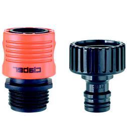 Claber 8458 Faucet & Hose Connnector Set