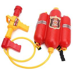 Shaoge Fireman Backpack Nozzle Water Gun Beach Outdoor Toy E