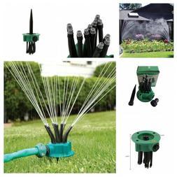 Flexible Garden Watering Sprayer 12 Tubes Yard Lawn Sprinkle