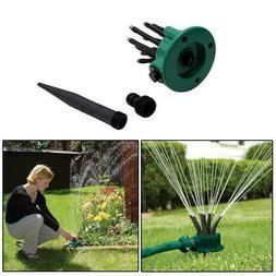 Garden 360 Degree Multi-head Automatic Sprinkler Watering No