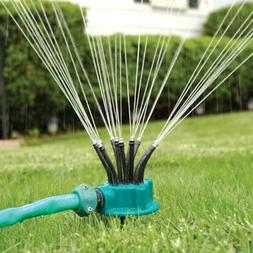 Garden 360 Degree Multi-head Automatic Sprinkler Watering No