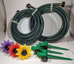 Garden Hose Kit Multi Adjustable Sprinklers Durable Melnor C
