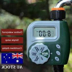 Garden Lawn Automatic Water Sprinkler System Timer Outdoor I