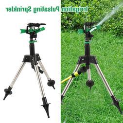 Garden Plant Lawn Watering Tripod Farmland Impact Sprinkler