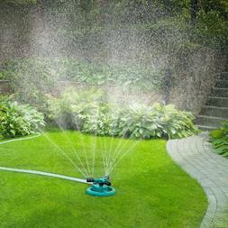 Garden Sprinkler Adjustable 360 Degree Rotation Lawn Multipu
