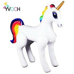 giant inflatable sprinkler unicorn for outdoors yard