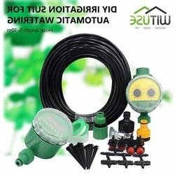 Greenhouse Irrigation Drip System DIY Water Timer Hose Fauce