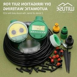 Greenhouse Micro Irrigation Drip System DIY Water Timer Hose