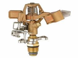 SOMMERLAND Heavy Duty Brass Impact Head Sprinkler 0 to 360 D