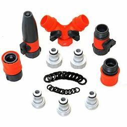 RAAYA Garden Hose/Quick Connectors Set: Garden Hose Nozzle,