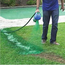 Hot Seed Spray Kettle Sprinkler Liquid Lawn System Grass Fas