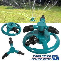 Impulse Garden Sprinkler Watering Rotating System Water Gras