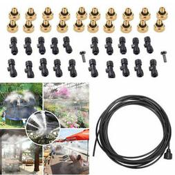 Irrigation Misting Nozzle Set Water Hose Sprinkler Watering