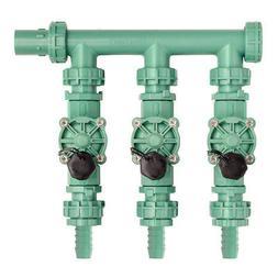 Orbit Irrigation Valve Manifold System - 3 Valves, Multiling