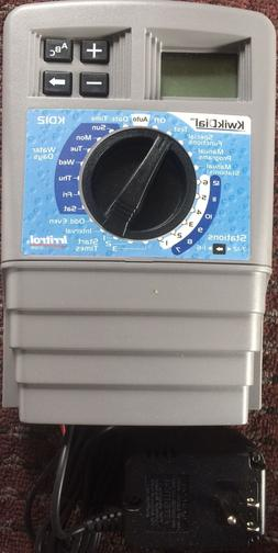 Irritrol 12 Station KwikDial Sprinkler INDOOR Controller KD1