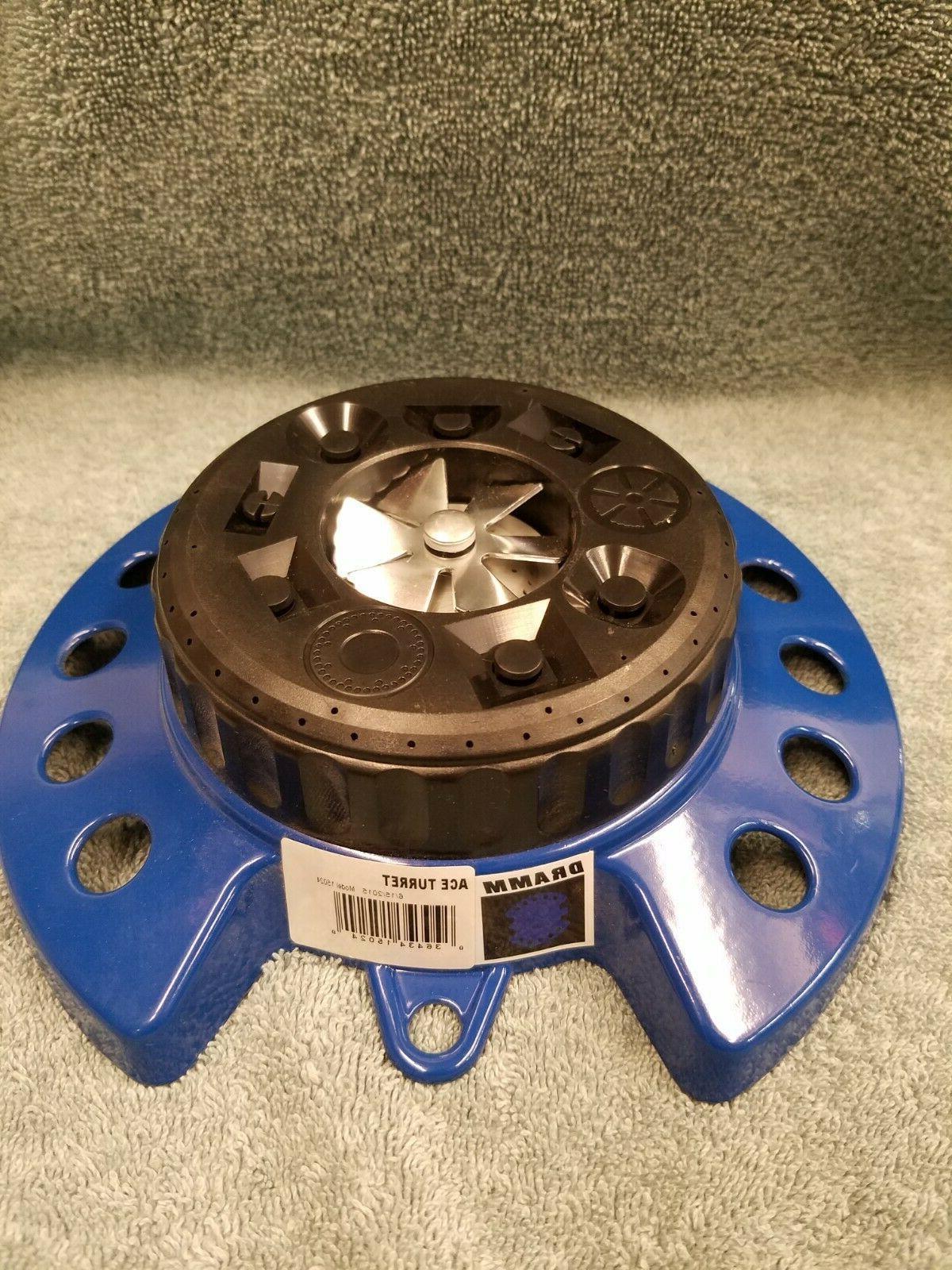 10 15024 color storm turret sprinkler blue