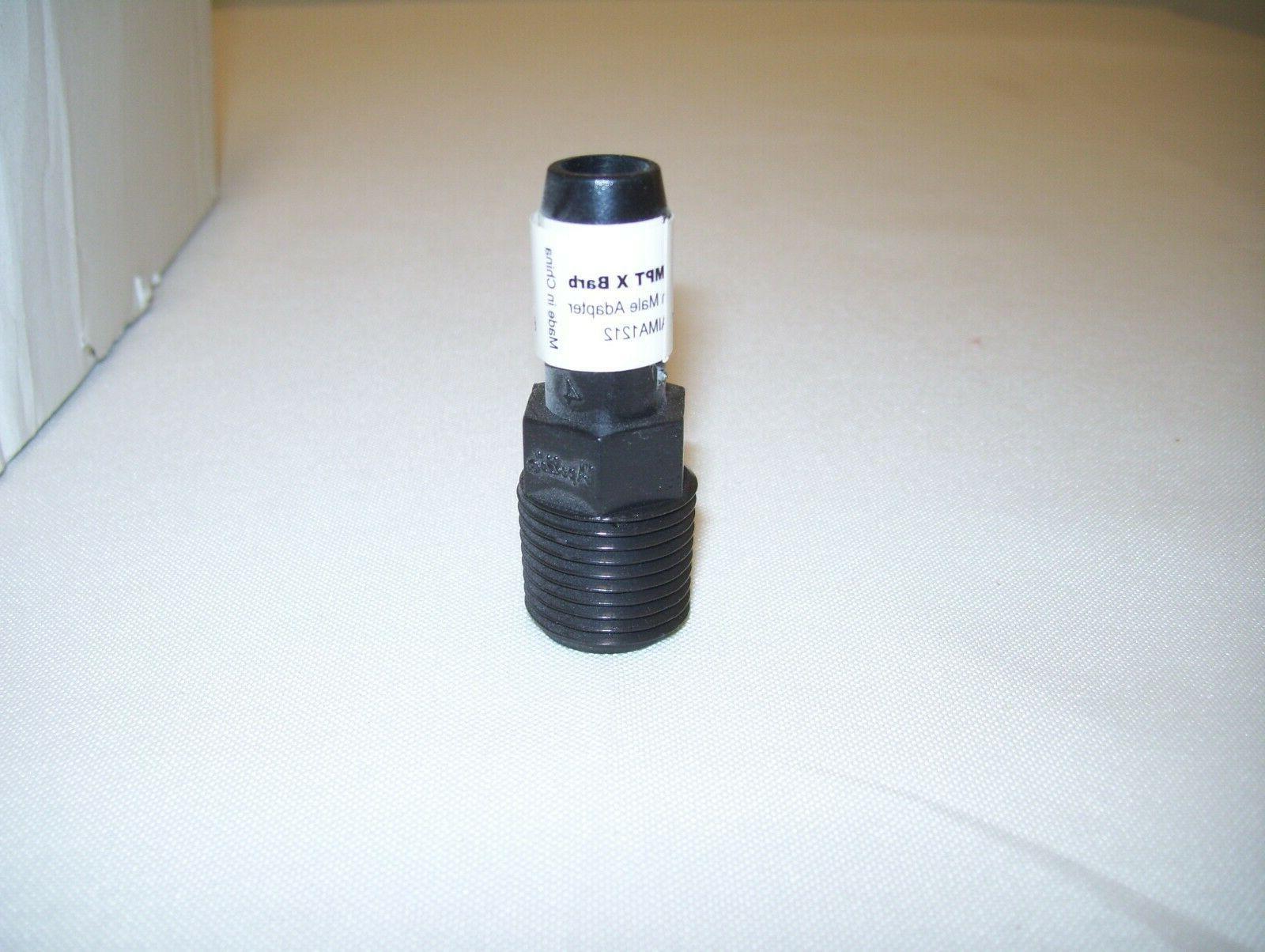 Apollo Male Adapter Barb Irrigation Tubing Polyethylene