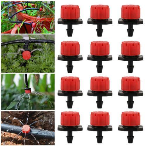 100 adjustable micro drip irrigation watering anti