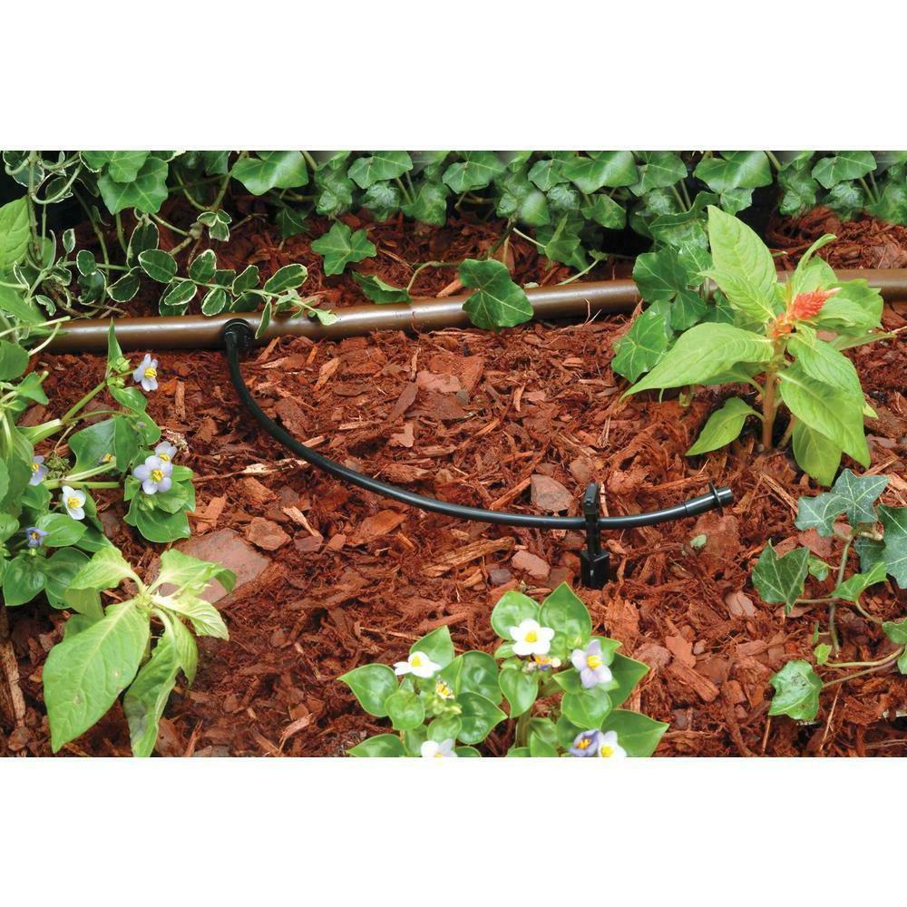 100 Ft Drip Irrigation Micro Black