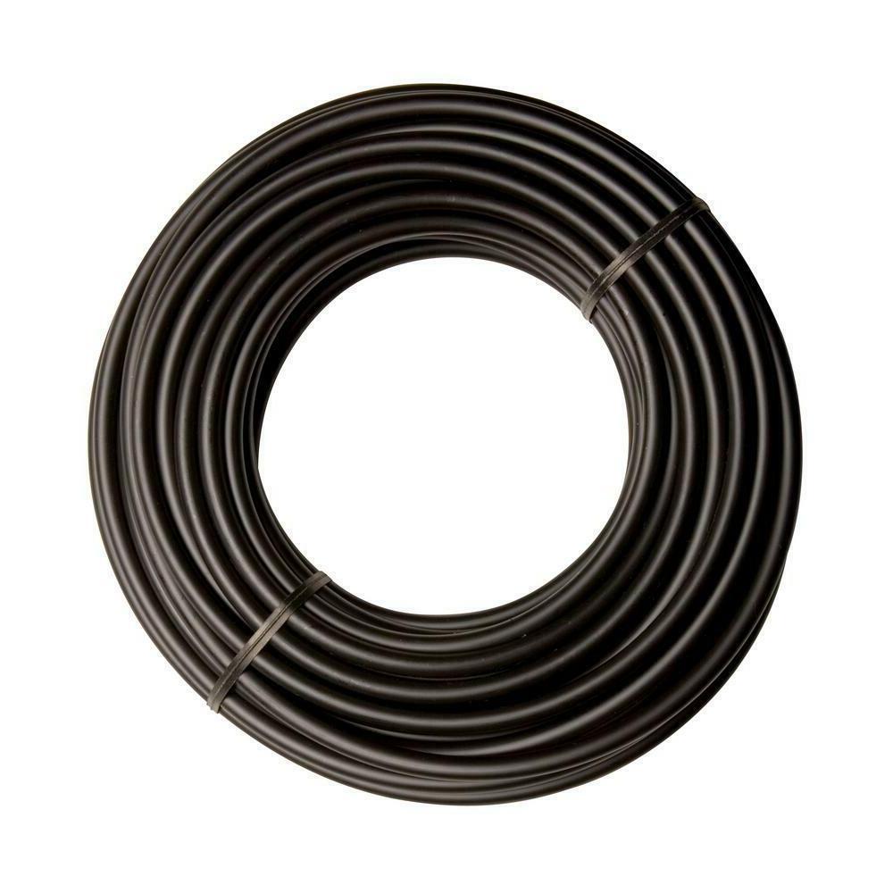 """Drip Irrigation 1/4"""" Tube Micro Water Sprinkler Black"""