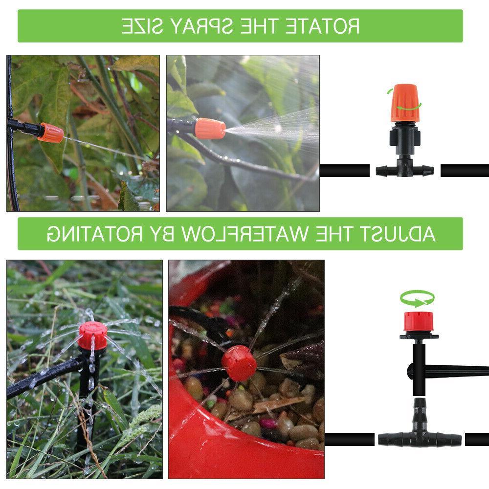 100ft 30M Irrigation Kit Timer Micro Sprinkler Garden