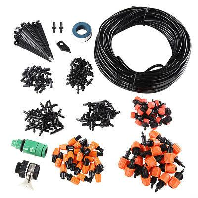 100ft diy micro drip watering kit irrigation
