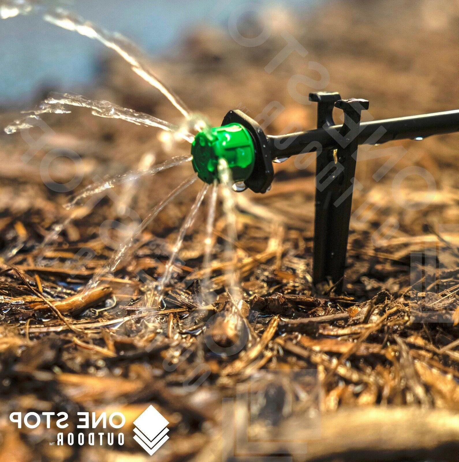 100Pc Micro Irrigation Sprinkler Watering System